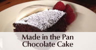 Made in the Pan Chocolate Cake