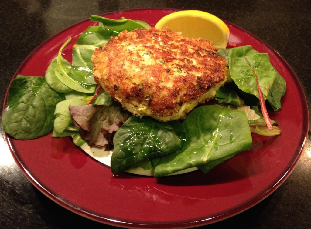 Red Snapper crab cakes.