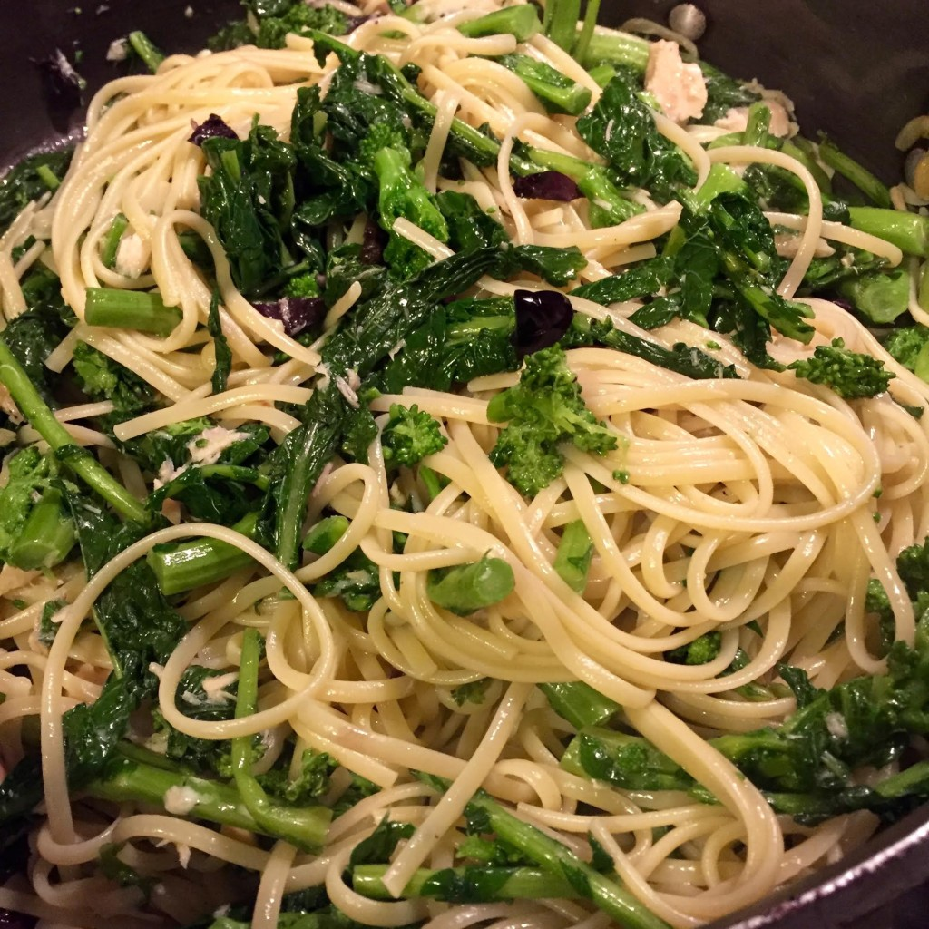 Roasted Broccoli Rabe With Garlic Recipe — Dishmaps