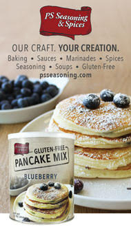 PS seasoning Gluten-Free Pancake Mix Blueberry